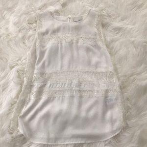 Ivory greylin blouse